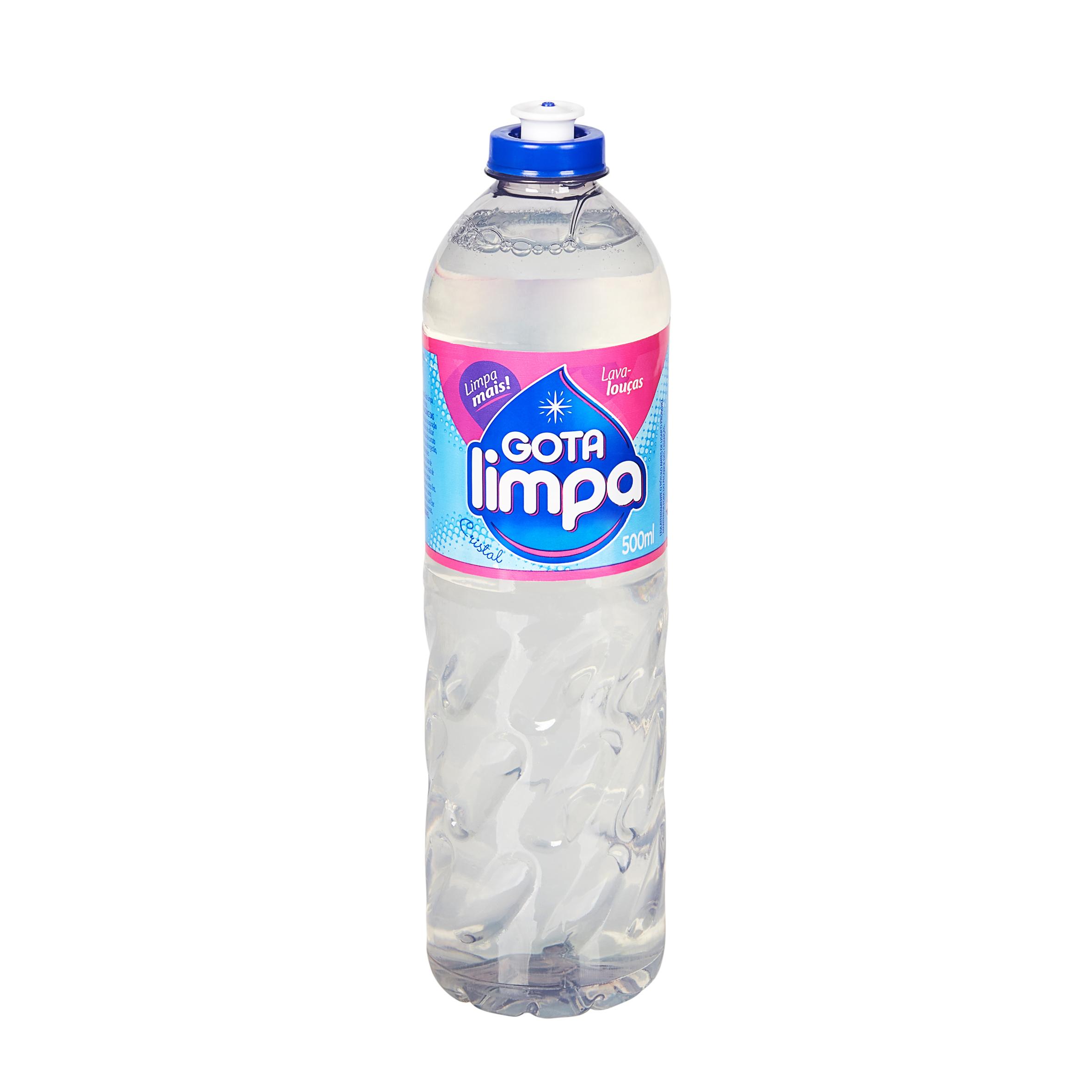 Lava Louças Gota Limpa Cristal 500ml
