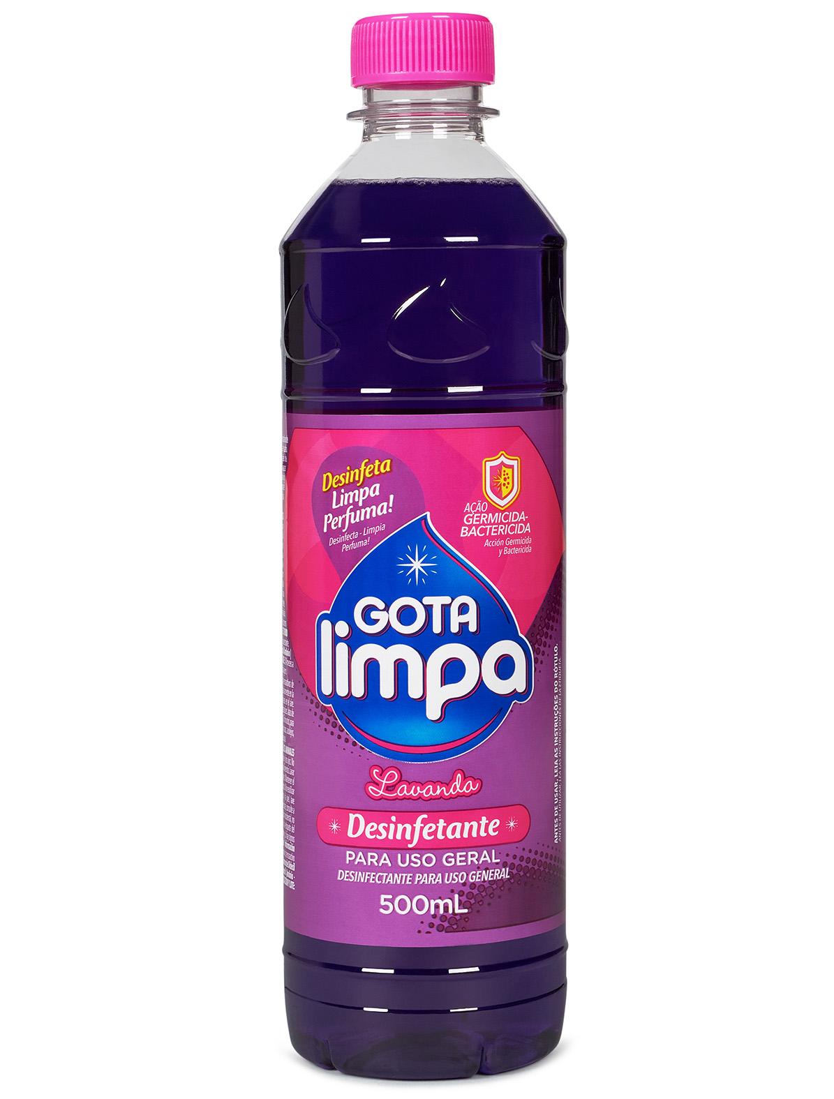 Desinfetante Gota Limpa Lavanda 500ml