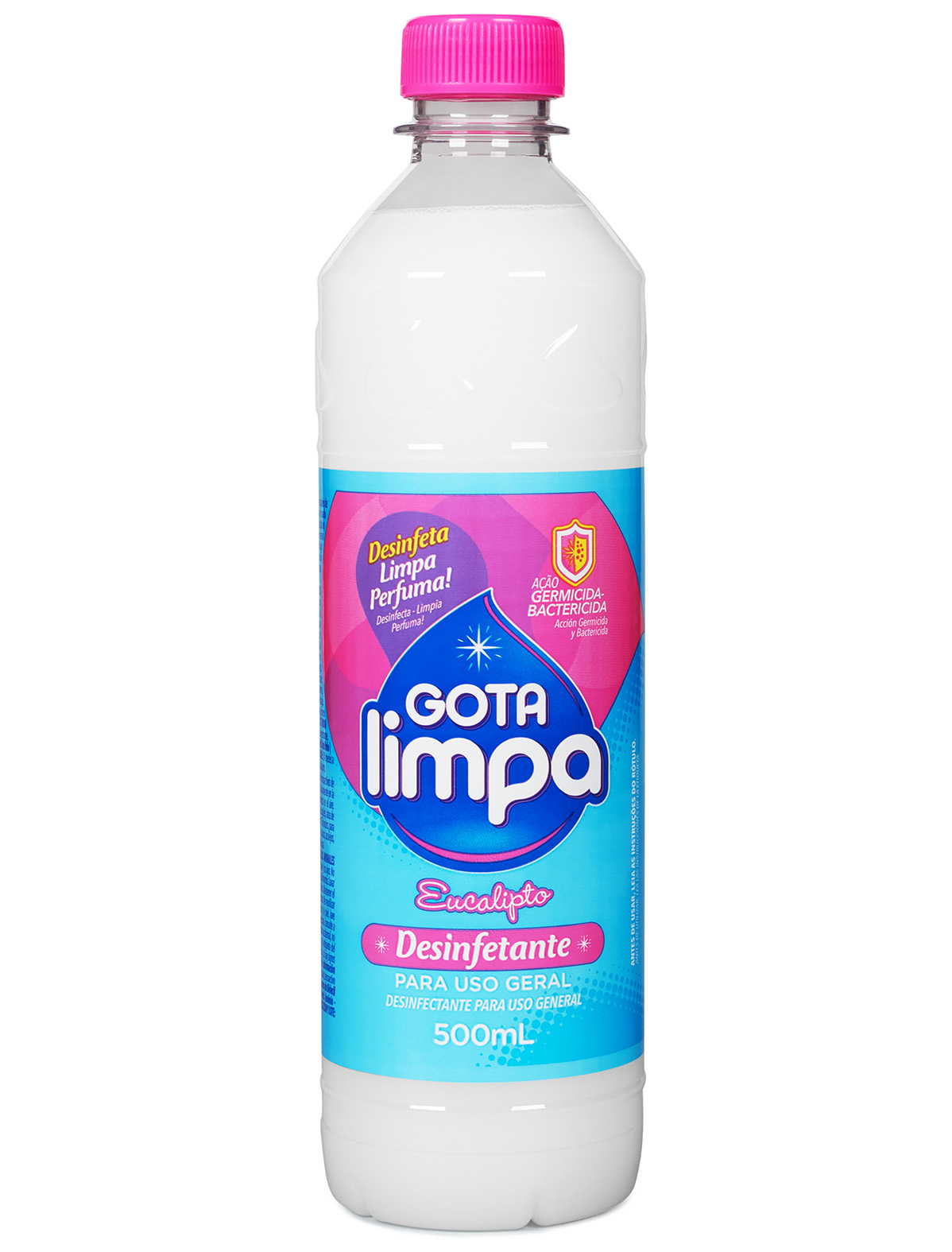 Desinfetante Gota Limpa Eucalipto 500ml