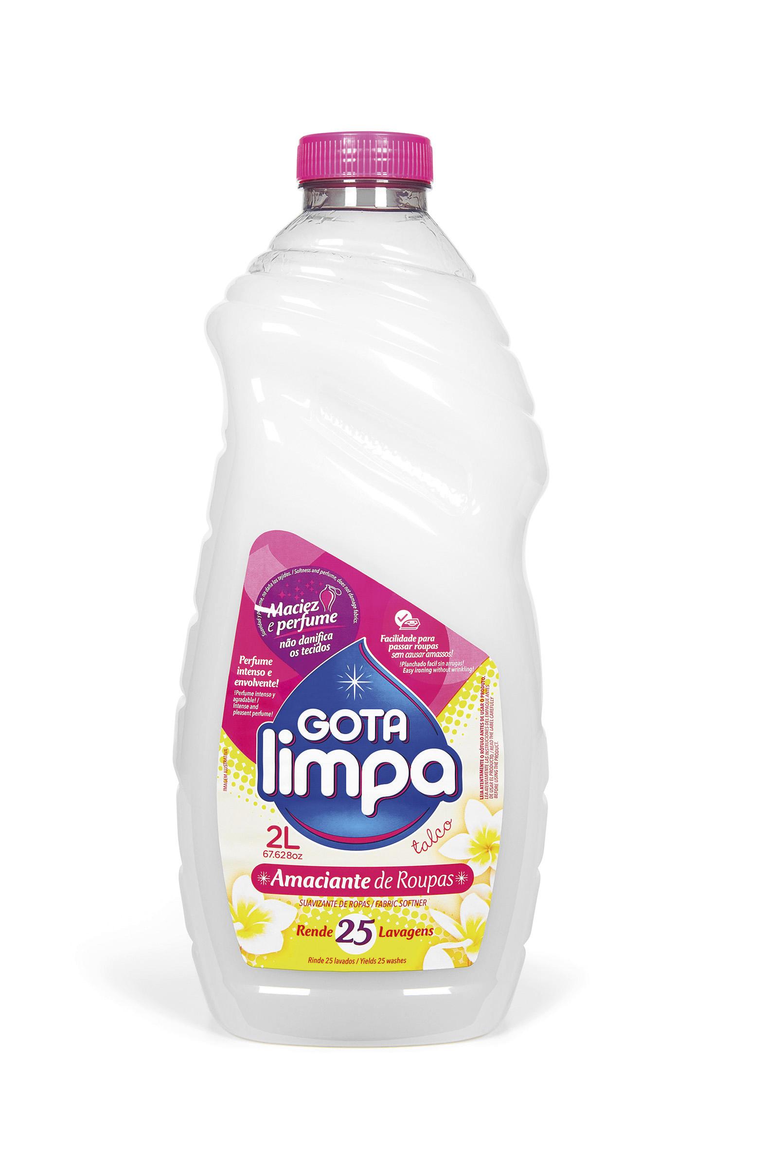 Amaciante Gota Limpa Talco 2L