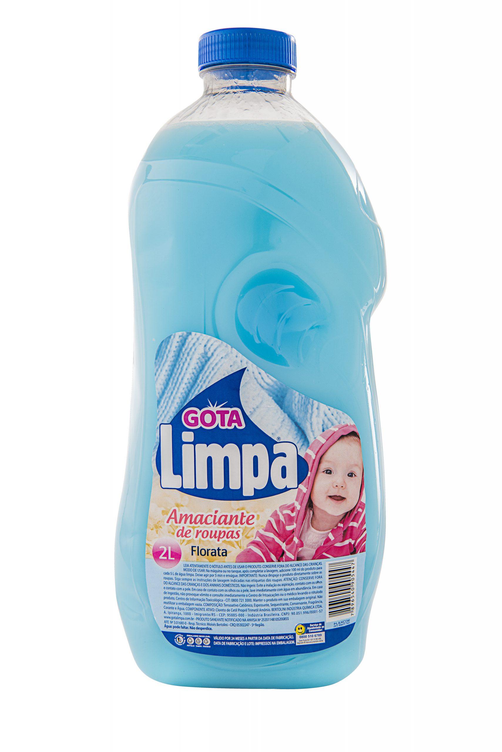 Amaciante Gota Limpa Florata 2L