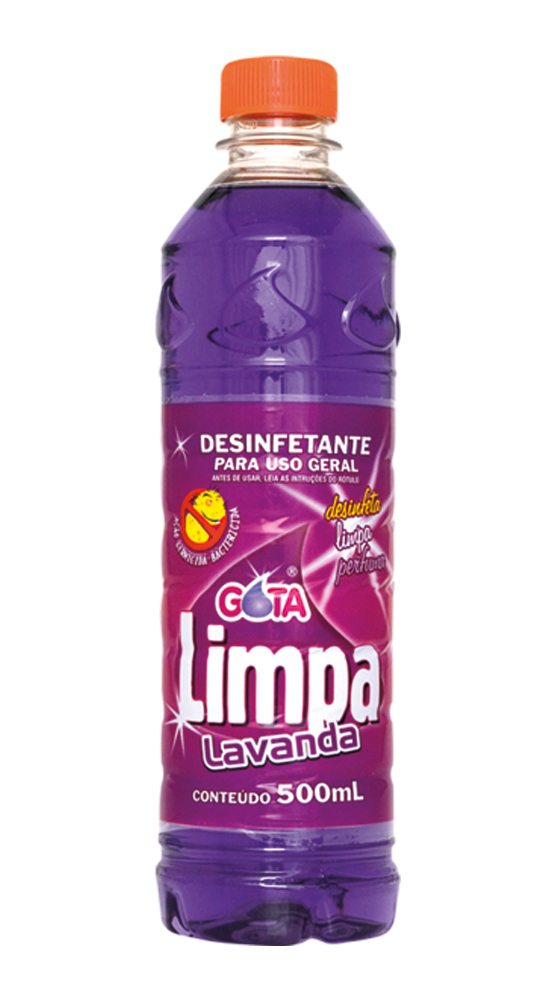 Desinfectante Gota Limpa Lavanda 500ml