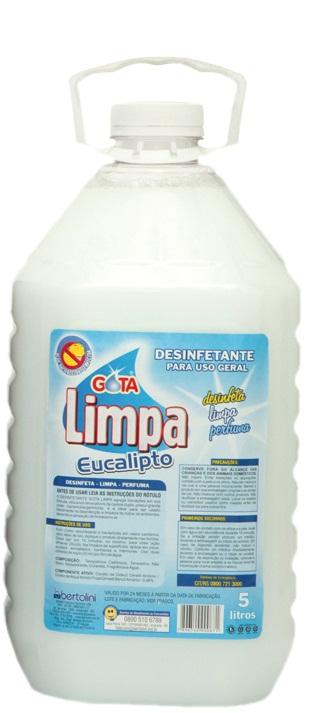 Desinfectante Gota Limpa Eucalipto 5L