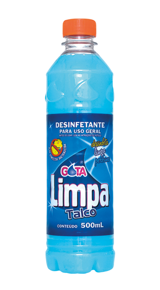 Desinfectante Gota Limpa Talco 500ml