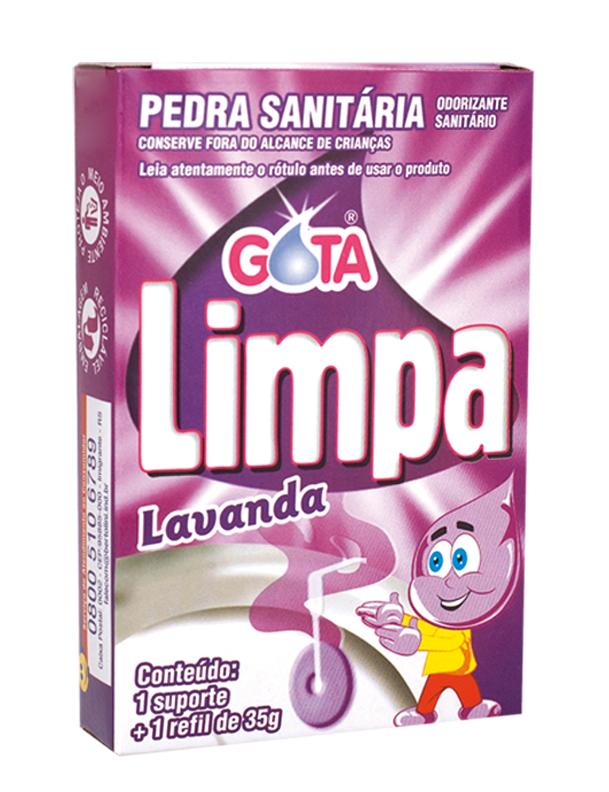 Bloque Sanitario Para Inodoro Gota Limpa Lavanda