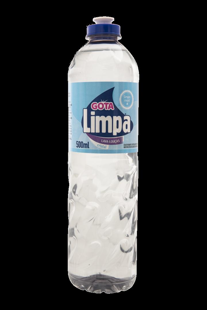 Gota Limpa Liquid Dishwashing Detergent Crystal 500ml