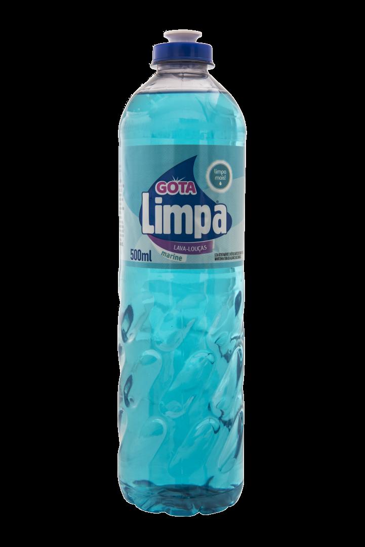 Gota Limpa Liquid Dishwashing Detergent Marine 500ml