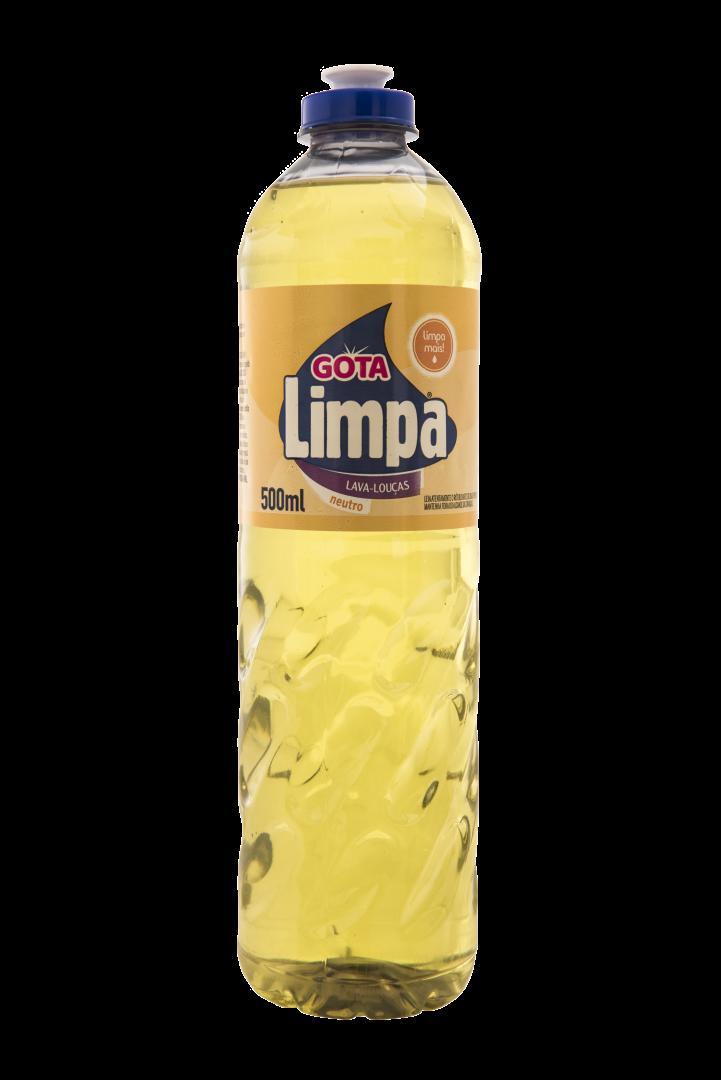 Gota Limpa Liquid Dishwashing Detergent Neutral 500ml