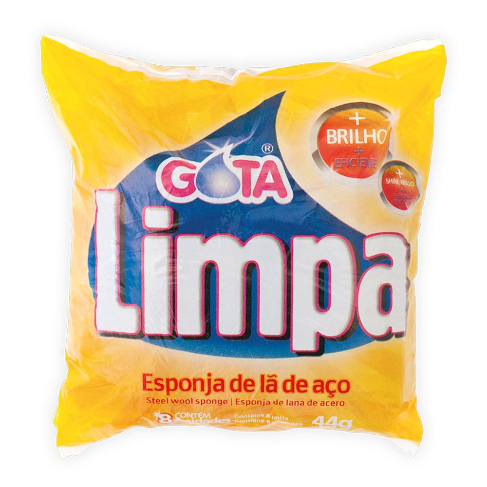 Gota Limpa Steel Wool Pad
