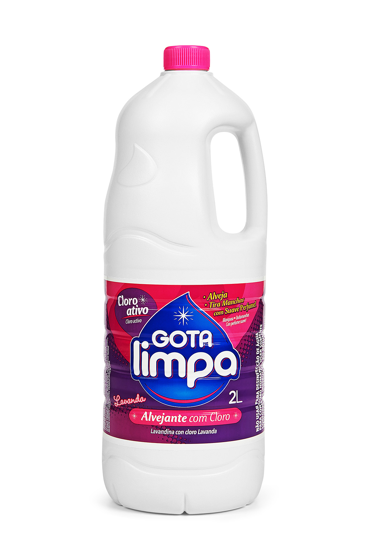 Alvejante Gota Limpa Lavanda 2L