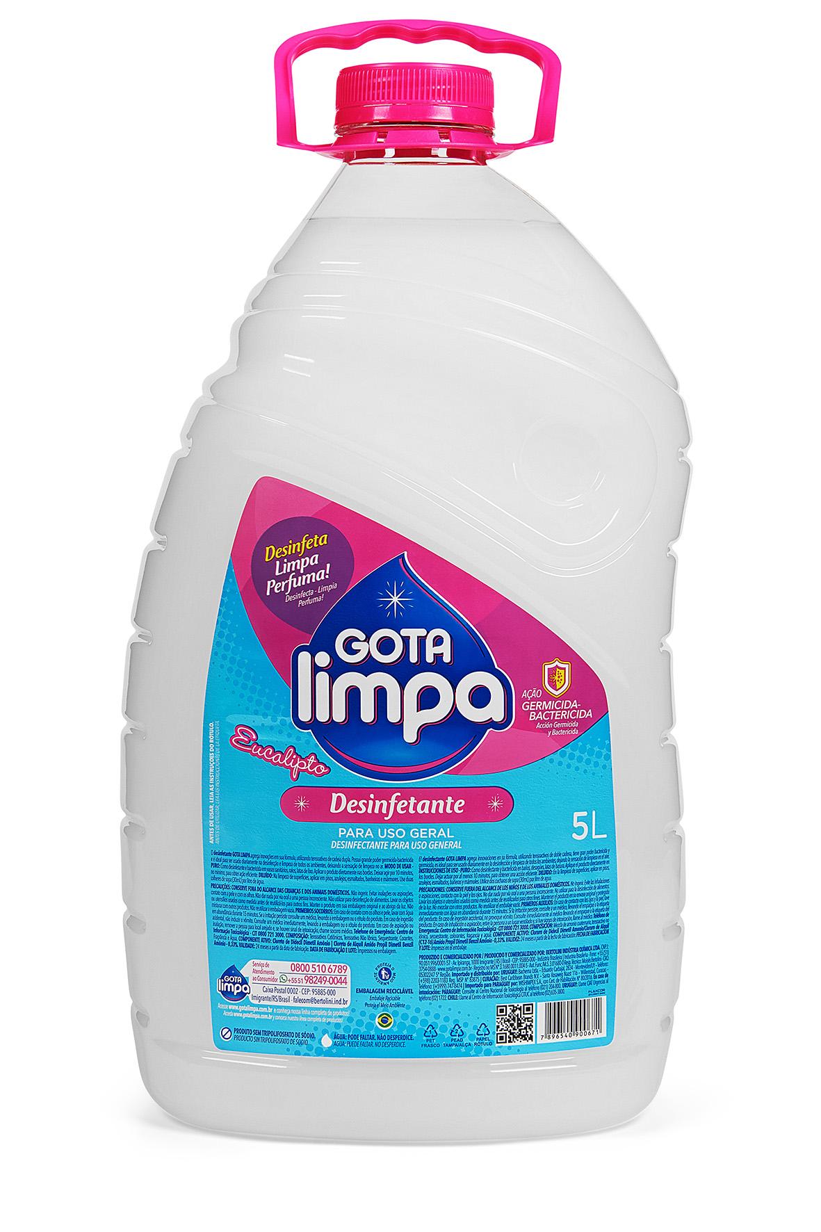 Desinfetante Gota Limpa Eucalipto 5L