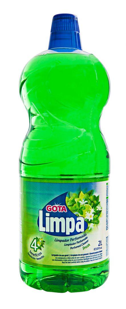 Limpador Perfumado Gota Limpa Fresh 2L