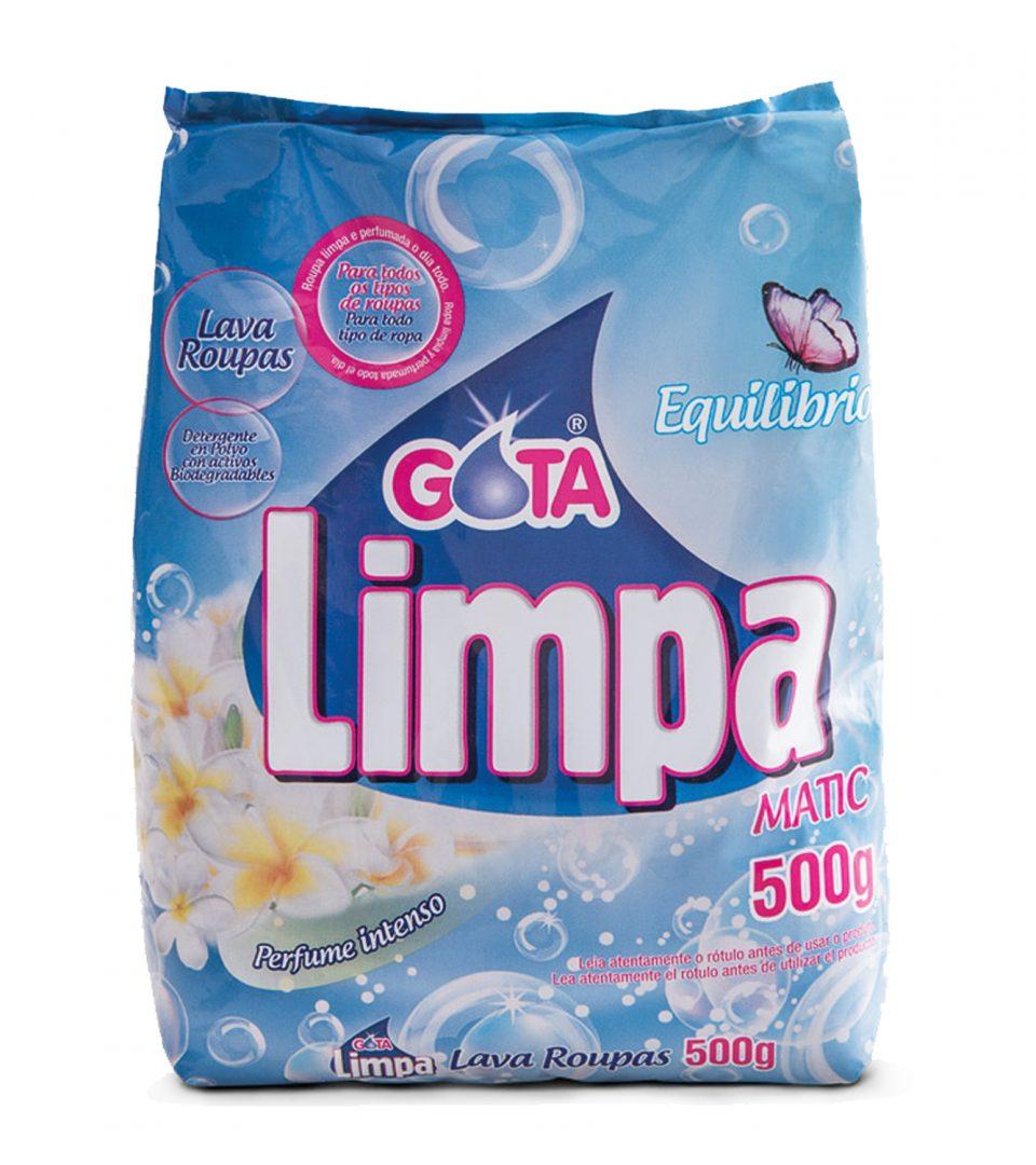 Lava Roupas Gota Limpa Equilíbrio 500g