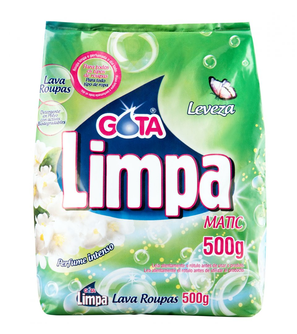 Lava Roupas Gota Limpa Leveza 500g