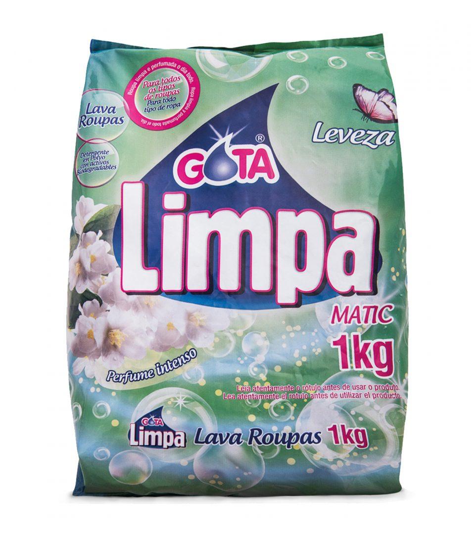 Lava Roupas Gota Limpa Leveza 1kg