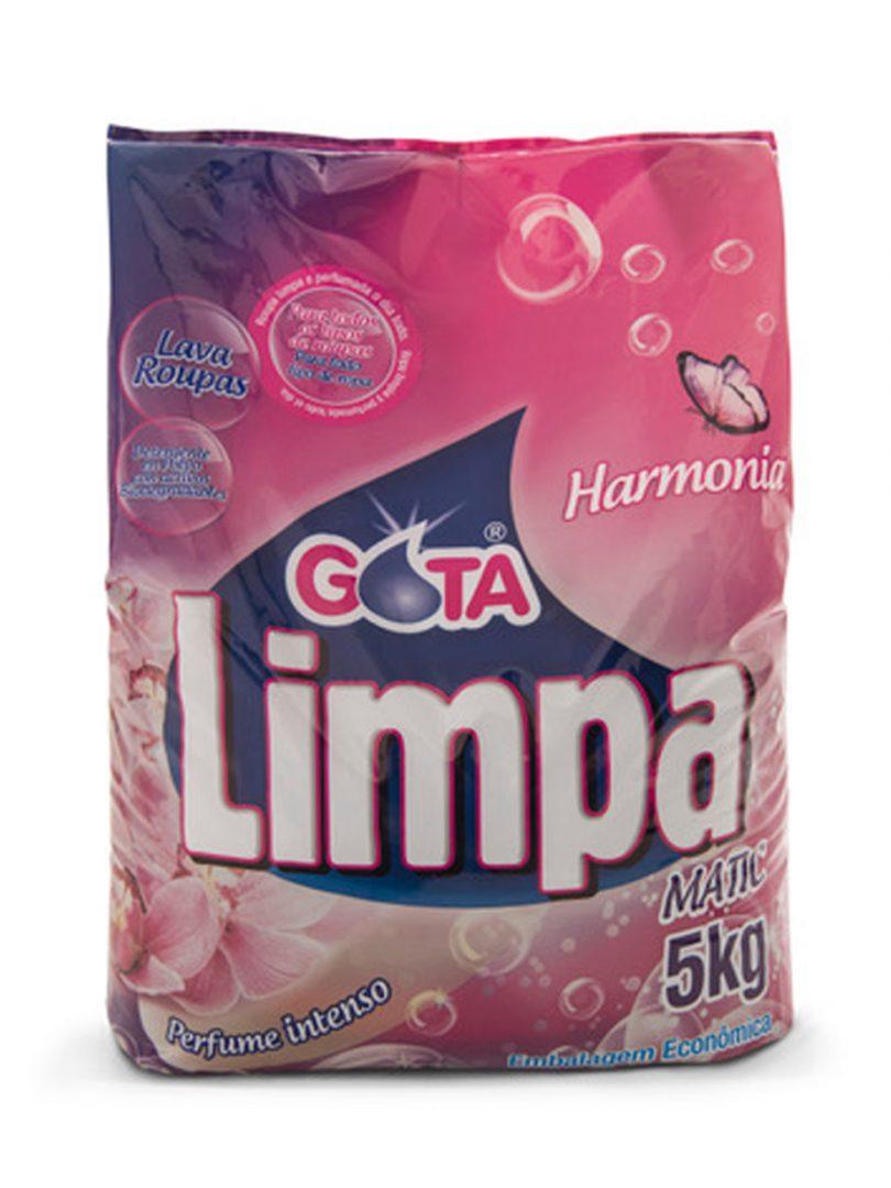 Lava Roupas Gota Limpa Harmonia 5kg