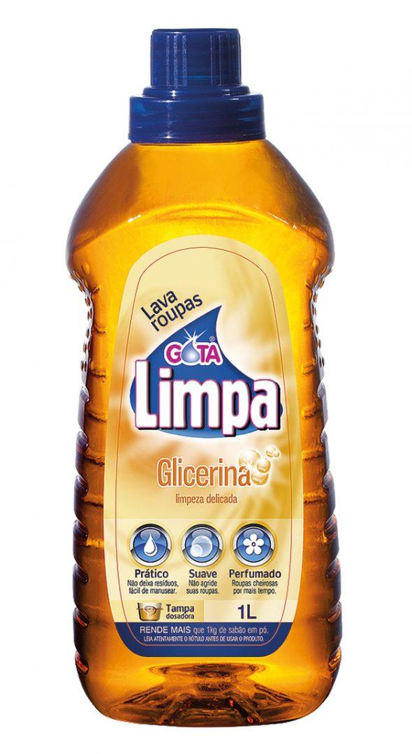 Lava Roupas Líquido Gota Limpa Glicerina 1L