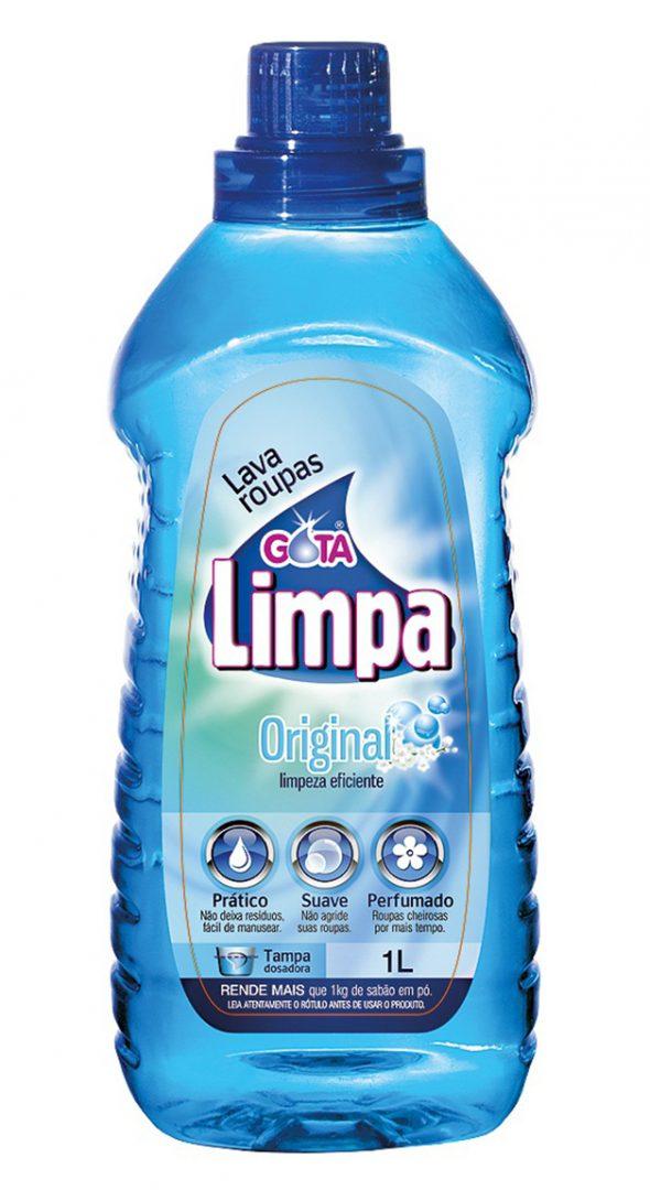 Lava Roupas Líquido Gota Limpa Original 1L