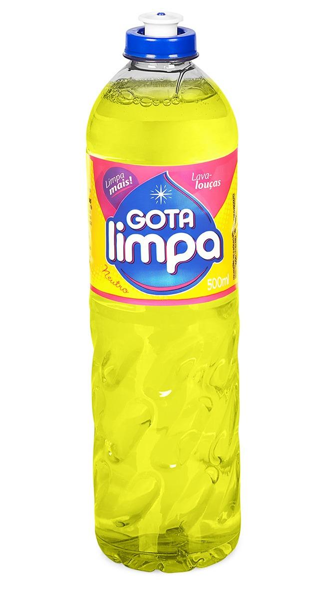 Lava Louças Gota Limpa Neutro 500ml
