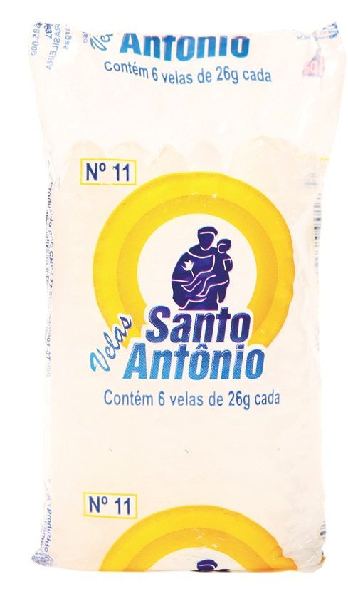 Vela Santo Antônio Nº 11 Vela Branca