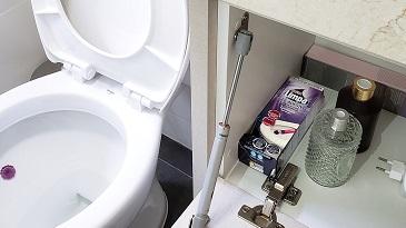 Você realmente limpa tudo que precisa no banheiro?