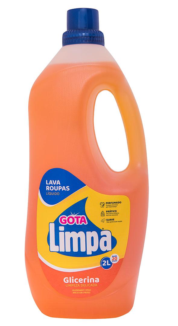 Jabón Líquido Gota Limpa Glicerina 2L