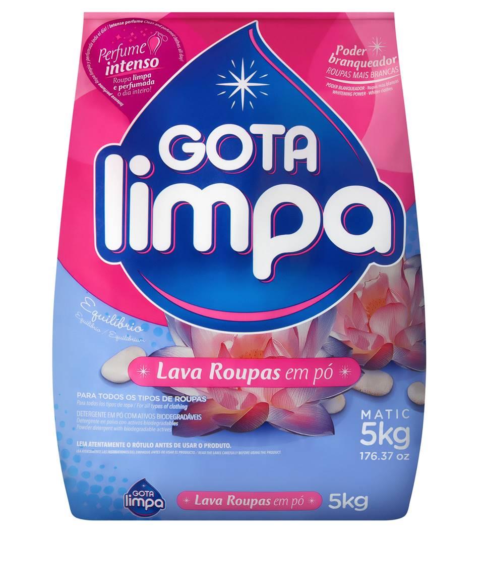 Lava Roupas Gota Limpa Equilíbrio 5kg