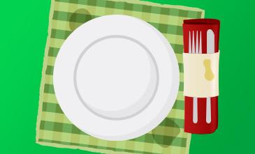 Aprenda de vez a retirar as manchas amarelas das toalhas de mesa