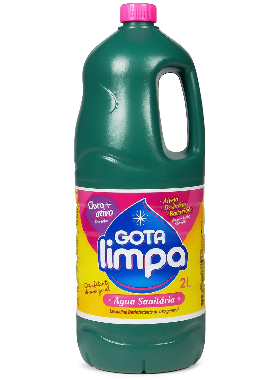 Água Sanitária Gota Limpa 2L