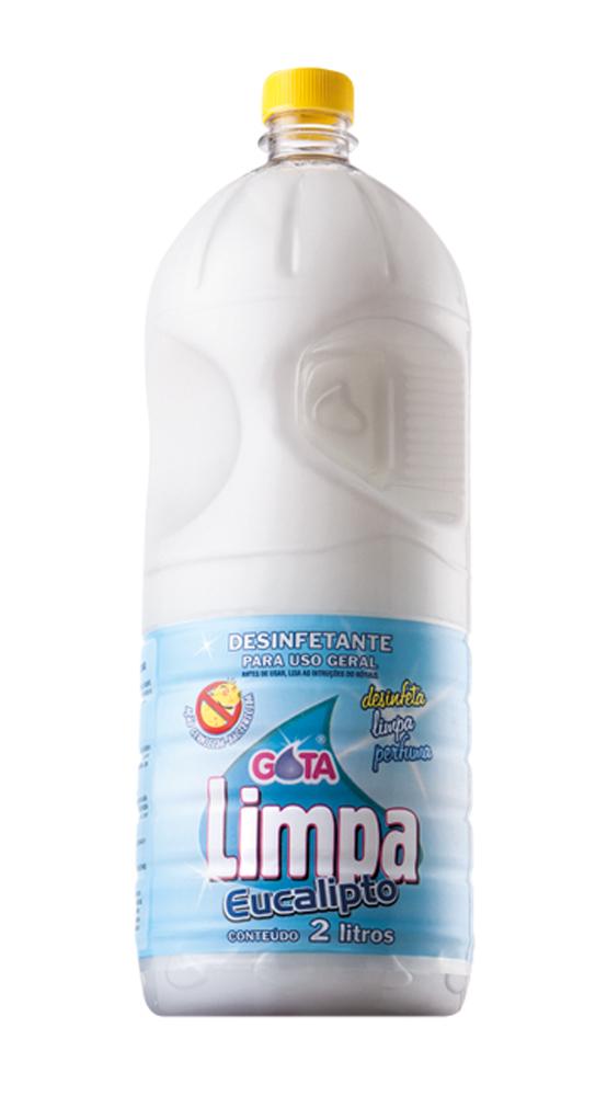 Desinfetante Gota Limpa Eucalipto 2L