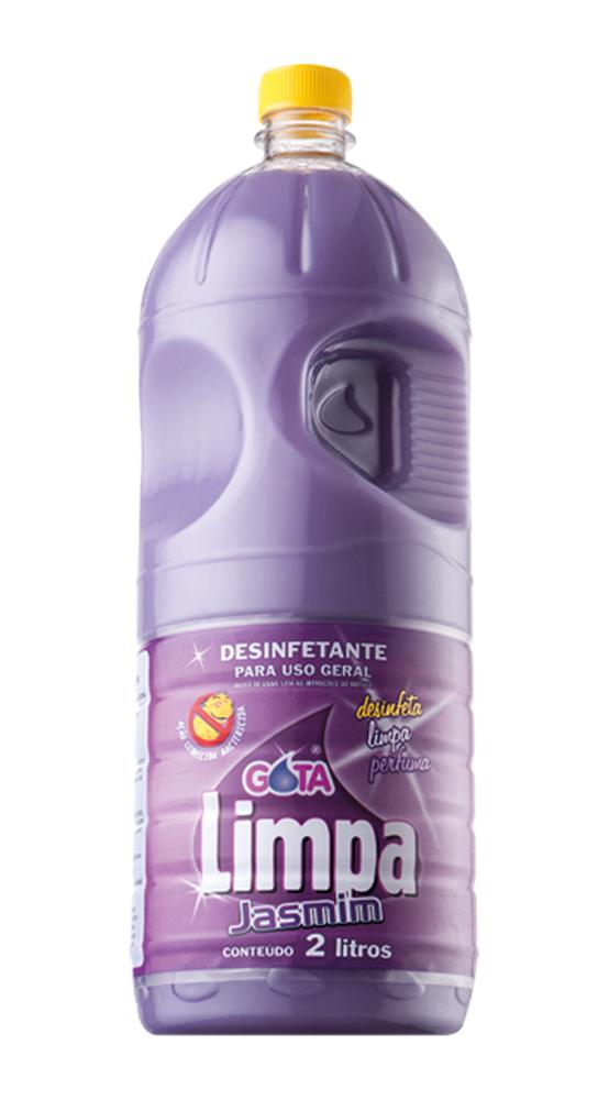 Desinfetante Gota Limpa Jasmim 2L