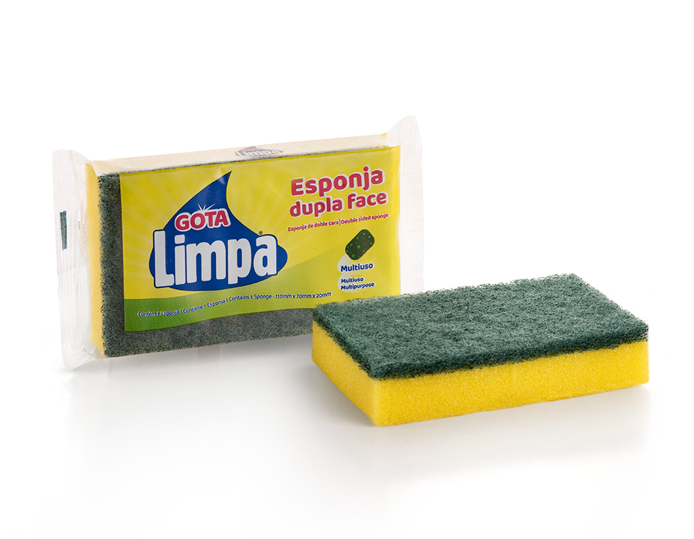 Esponja Doble Cara Gota Limpa