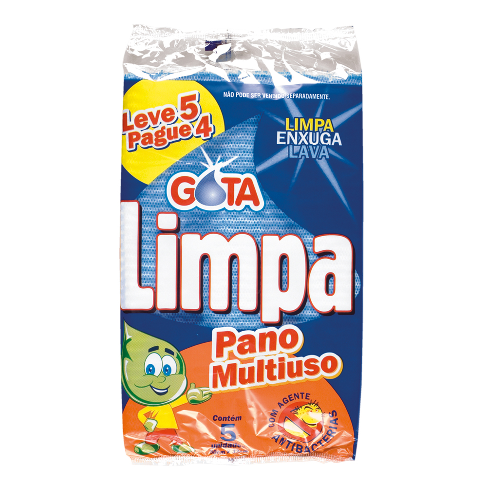 Gota Limpa Blue Multipurpose Cleaning Pad