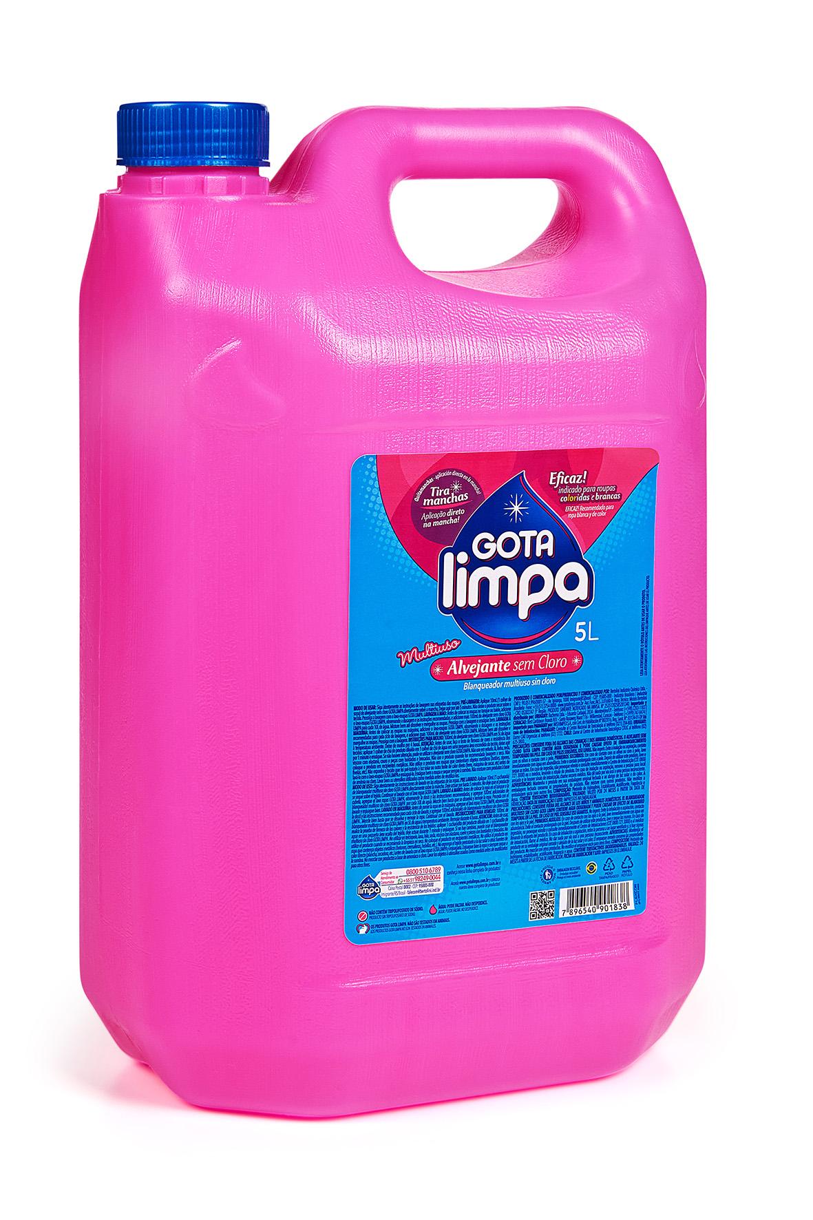 Gota Limpa Multipurpose Non-Chlorine Bleach 5L