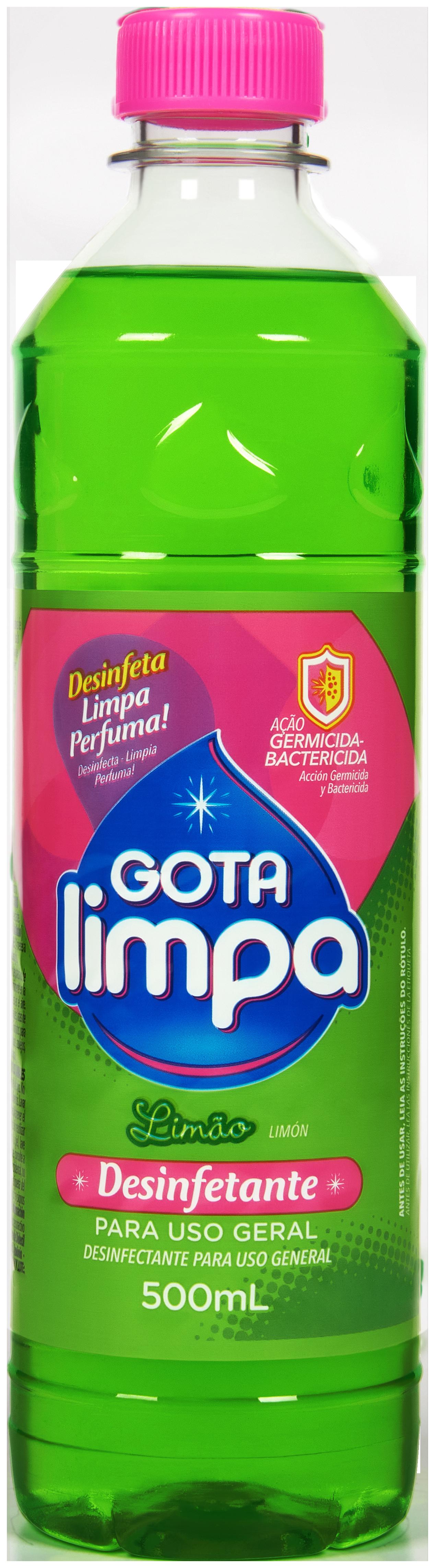 Desinfectante Gota Limpa Limón 500ml