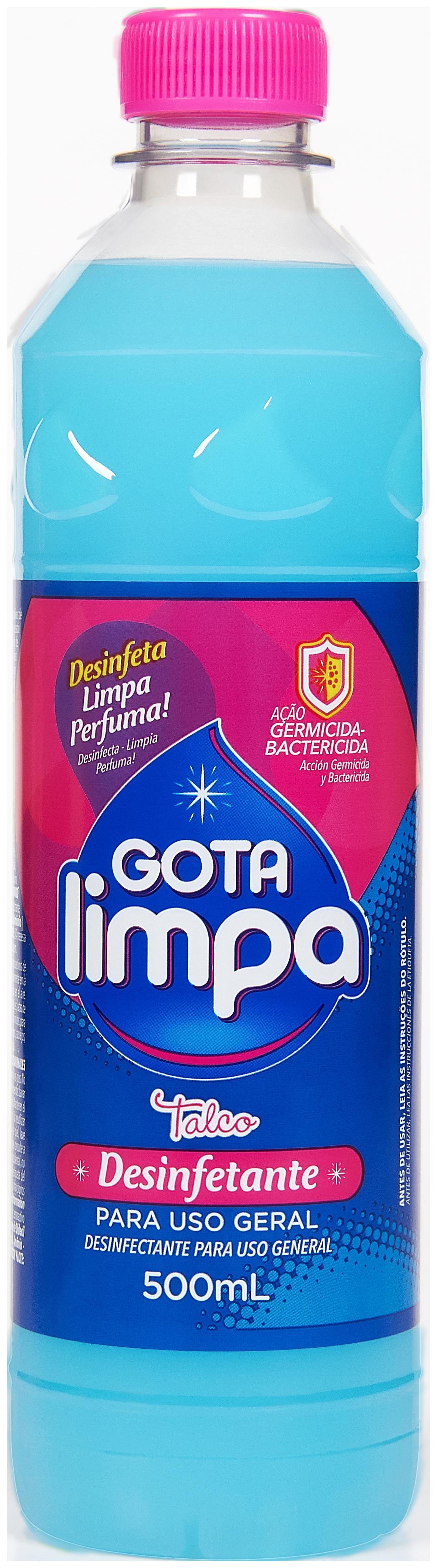 Desinfectante Gota Limpa Talco 500ml