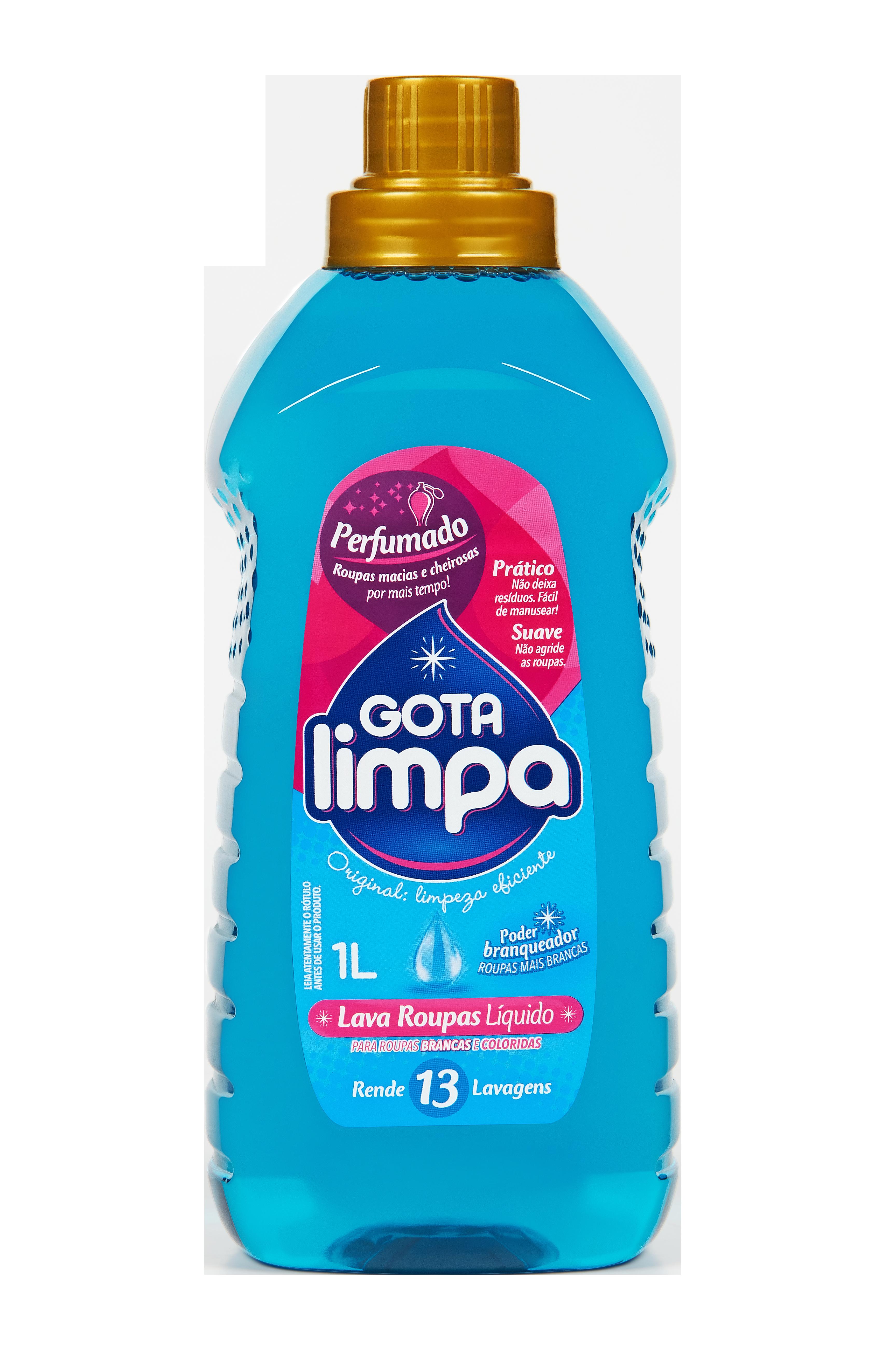 Gota Limpa Liquid Laundry Detergent Original 1L