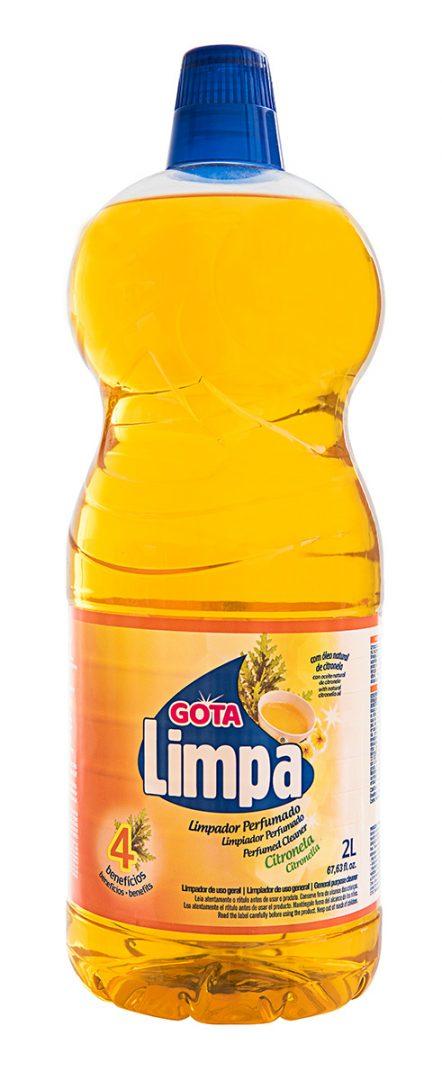 Limpador Perfumado Gota Limpa Citronela 2L