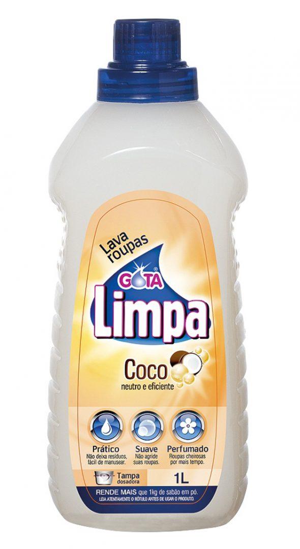 Gota Limpa Liquid Laundry Detergent Coconut