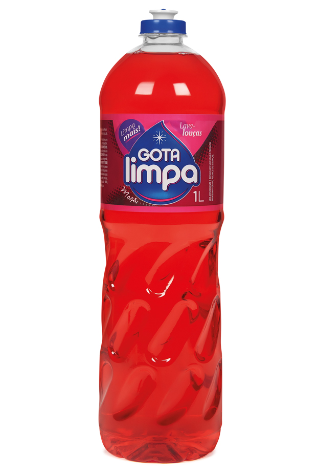 Gota Limpa Liquid Dishwashing Detergent Apple 1L