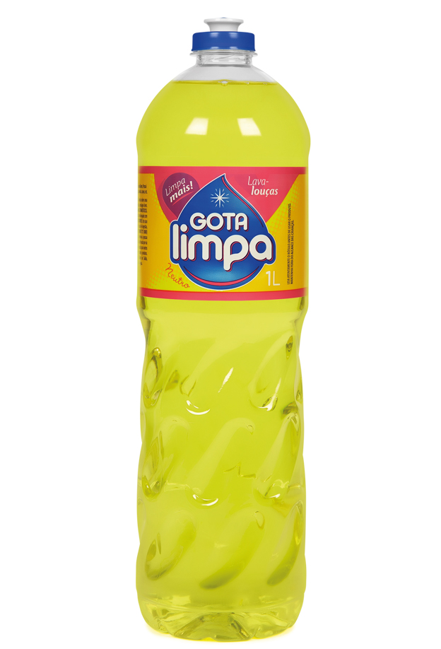 Gota Limpa Liquid Dishwashing Detergent Neutral 1L