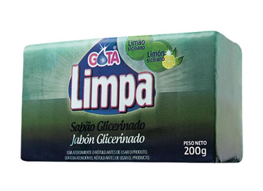 Sabão Gota Limpa Limão Siciliano 200g