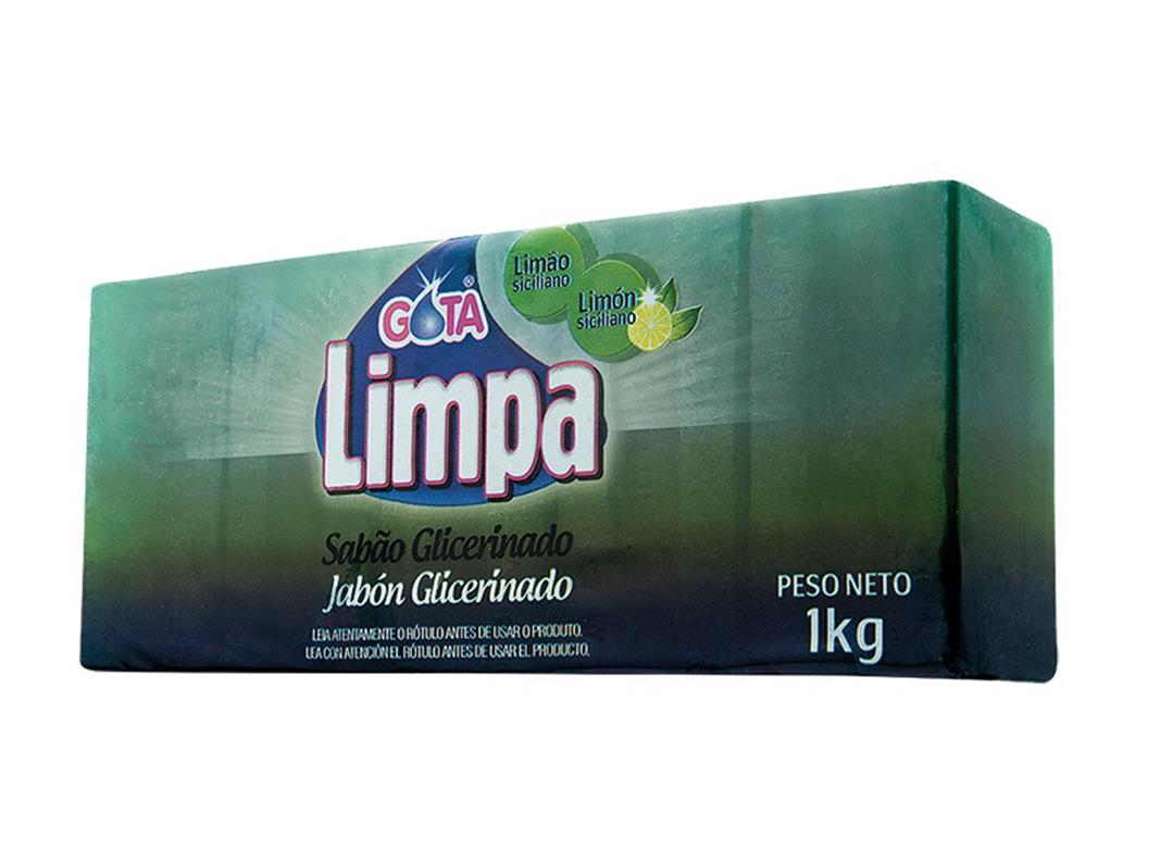 Sabão Gota Limpa Limão Siciliano 5x200g – 1kg