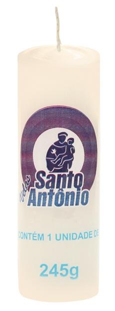 Vela Santo Antônio Nº 06 Vela Branca