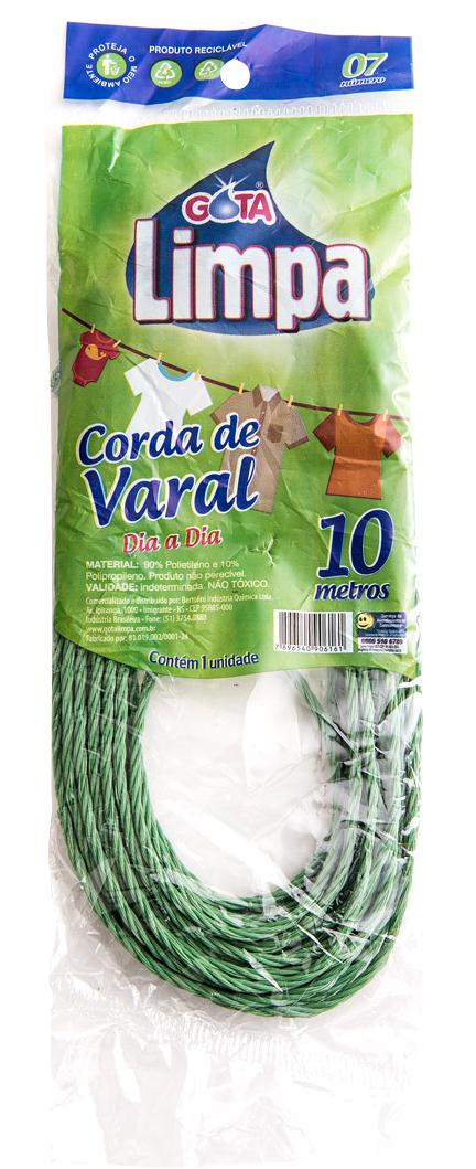 Gota Limpa Clothesline Rope 10m N07