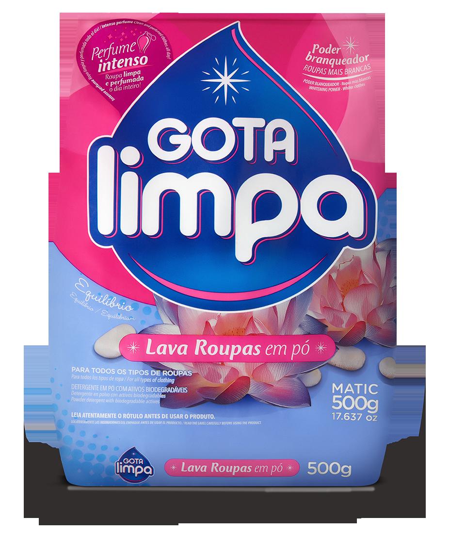 Gota Limpa Powder Laundry Detergent Equilibrium