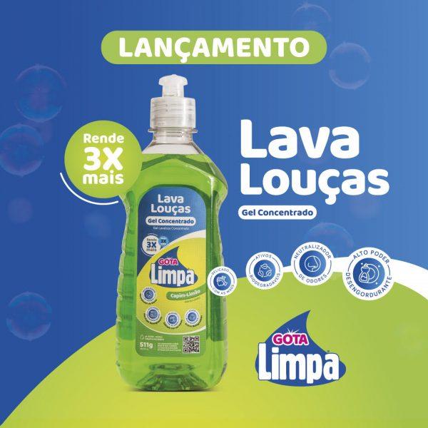 Lançamento: Detergente em Gel