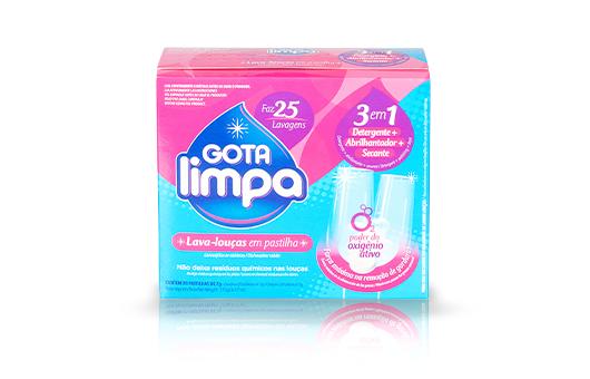 Lavavajillas en Tabletas Gota Limpa 175g