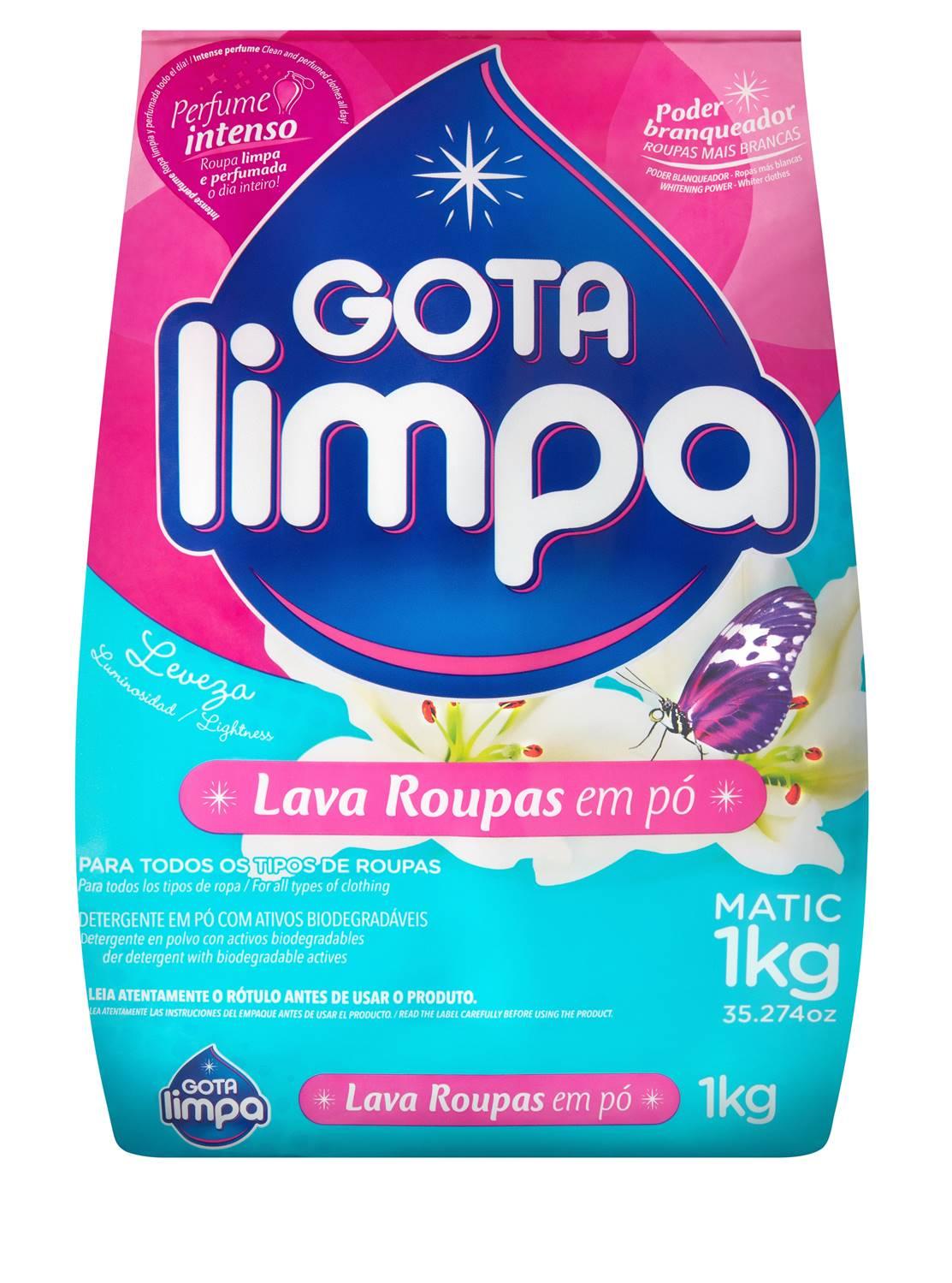 Gota Limpa Powder Laundry Detergent Lightness