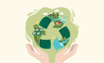 Reduzir, reciclar e reaproveitar: isso é responsabilidade.